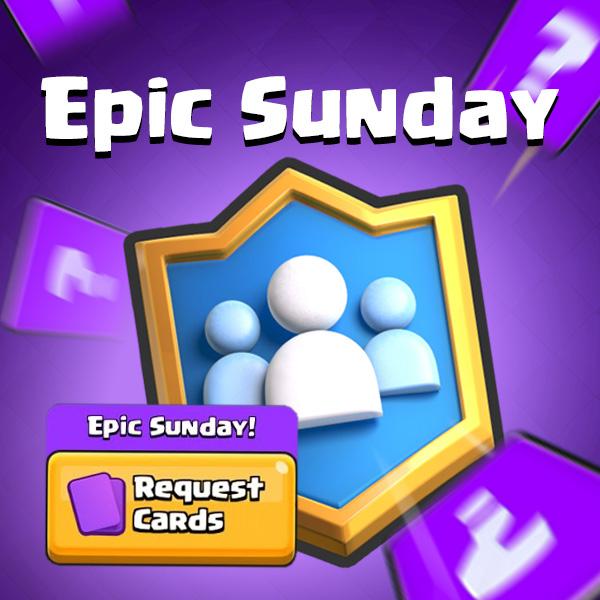 """Képtalálat a következőre: """"epic sunday clash royale"""""""