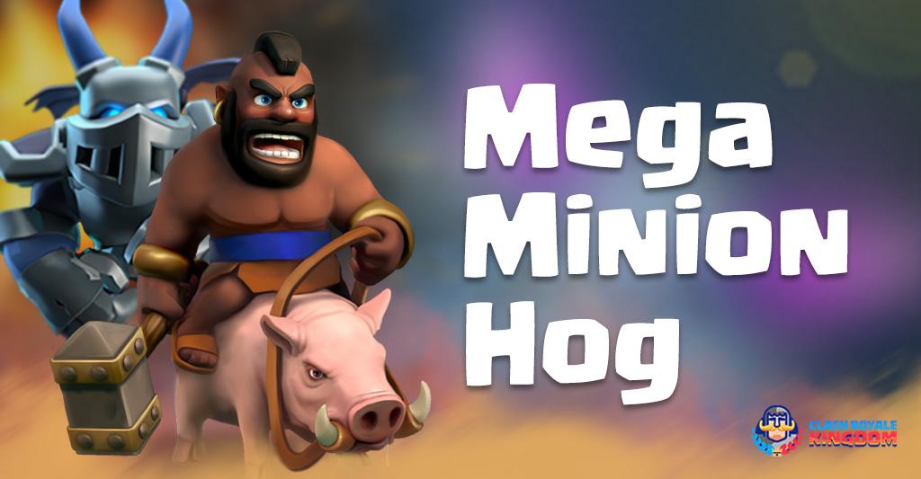 Mega Hog Deck Clash Royale Kingdom