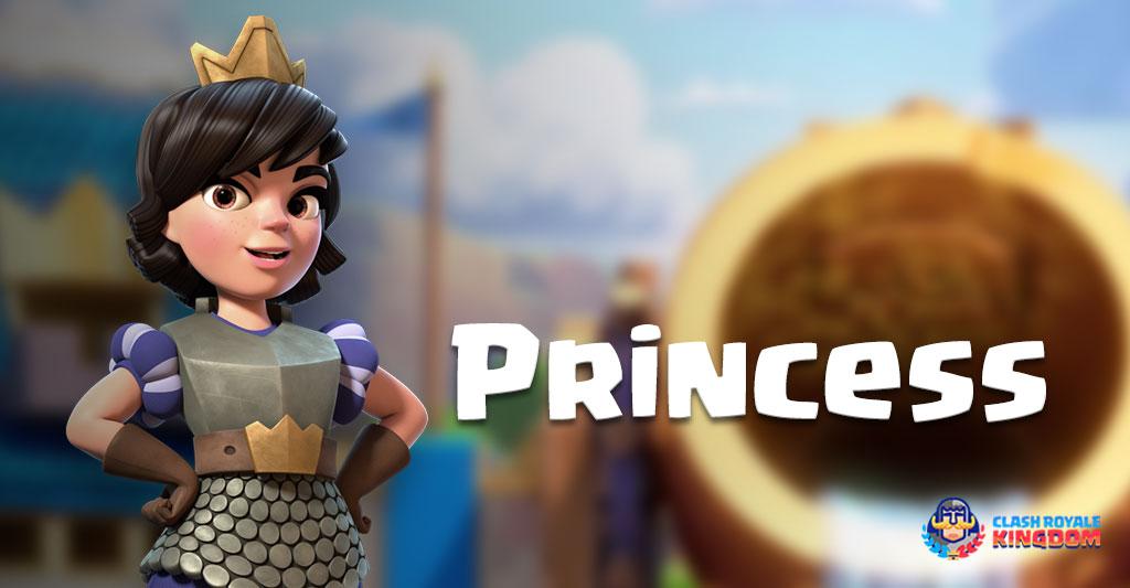 Clash royale princess wallpaper hd