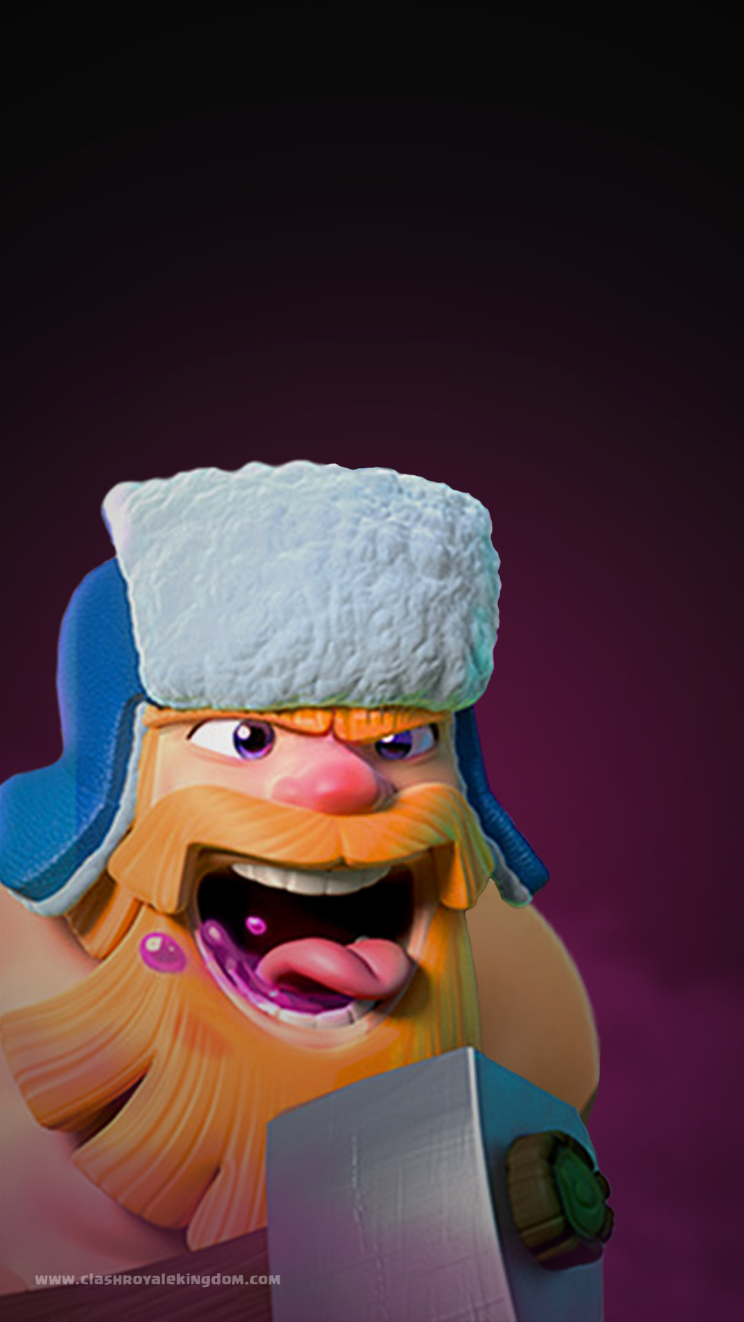 Lumberjack Clash Royale Wallpaper Clash Royale Kingdom